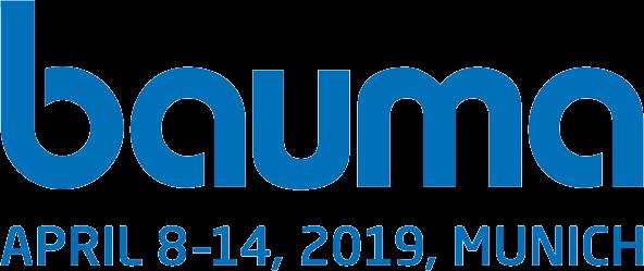 Besuchen Sie uns auf der BAUMA 2019 in München!